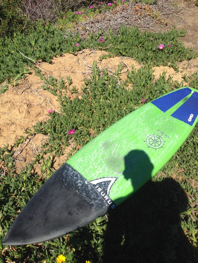 Post surf session shot of my new magic sled.